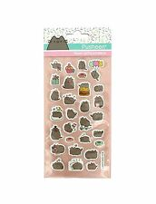 Pusheen Cat Kitten Super Puffy Stickers. 26 adorable Pusheens! Official Product