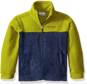 d80f7997c Columbia Boy Steens Mountain II Fleece Jacket XXS 4/5~XS 6/7~S 8~M ...