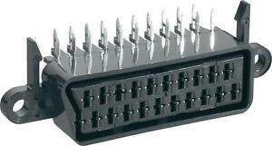 90-RIGHT-ANGLED-FULL-21-PIN-SCART-SOCKET-CONNECTOR-BUS-PCB-HORIZONTAL-MOUNTING