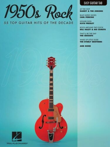 1950s Rock Sheet Music Easy Guitar with Notes /& Tab Easy Guitar Book N 000702272