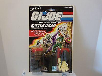 1983 Major Bludd GI Joe Cobra Battle Gear Accessory Pack #4 1986  Missile Pack