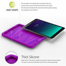 Poetic TurtleSkin Purple Case【Heavy Duty】Protection For Galaxy Tab S3 9.7