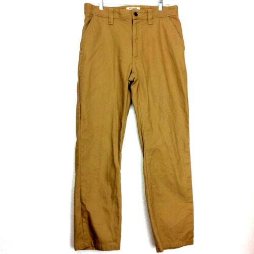 Filson Fenimore Twill Men's 32 Warm Khaki Cotton P