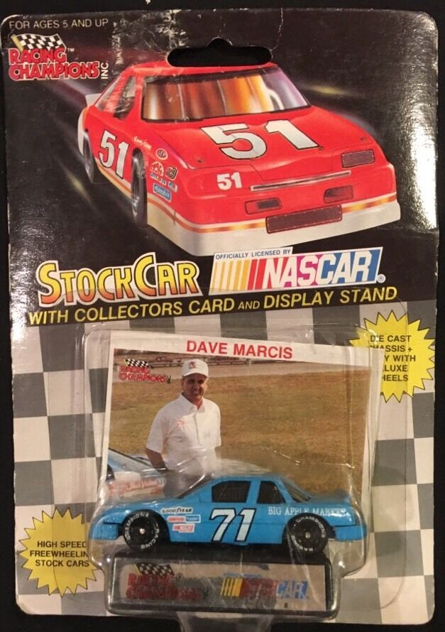 Racing Champions Dave Marcis Big Apple Market 1 64 Diecast New