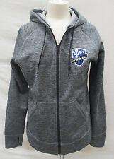 Montreal Impact Women's Medium Full-Zip Climawarm Hoodie MLS adidas Gray A9MRB