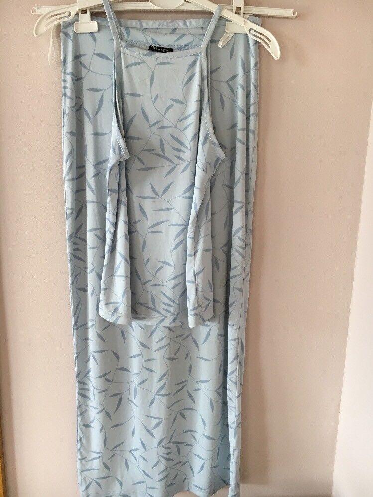 2 Divider Skirt/Shirt Blue Image Size S