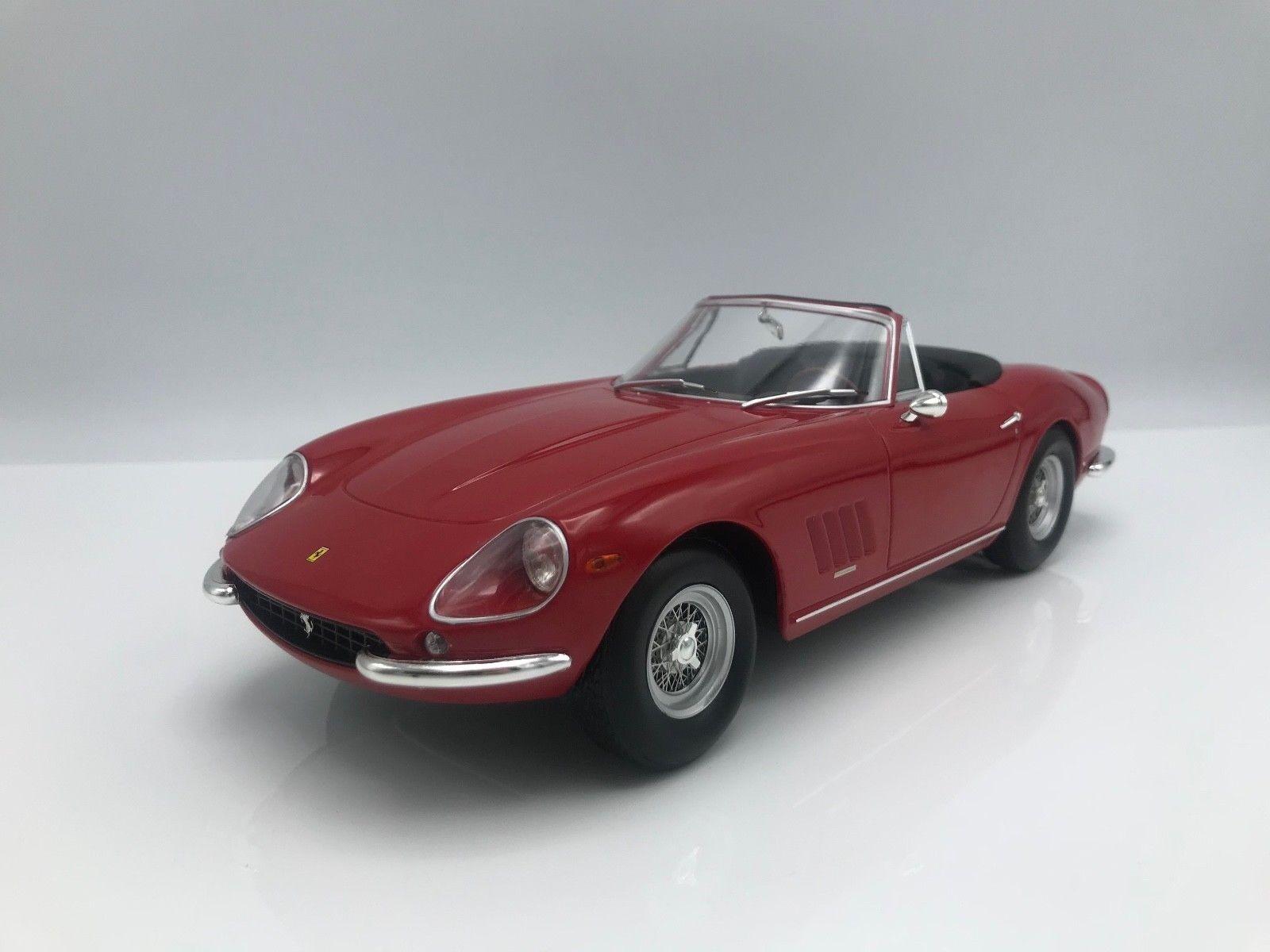 Ferrari 275 gtb 4 Nuts Spyder 1967 rouge - 1 18 KK-Scale    NEW