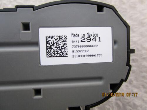 GMC YUKON XL A//C HEATER CLIMATE TEMPERATURE CONTROL OEM NEW 15-16 GMC YUKON