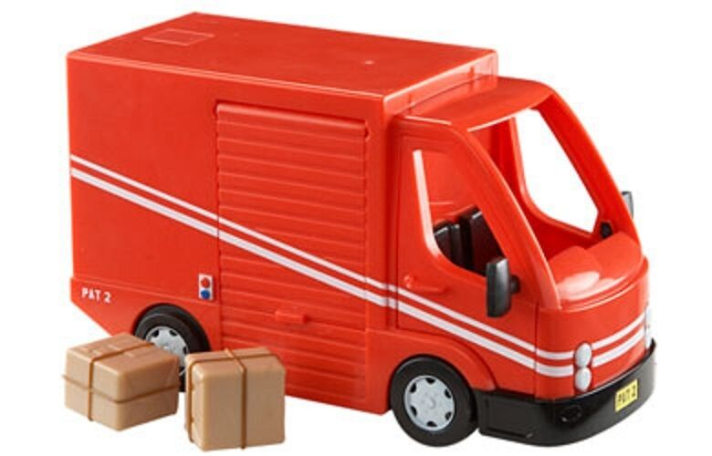 Postman Pat SDS Vehicle And Accessory Set - SDS Delivery Van