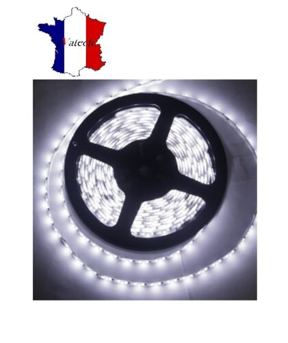 300 SMD LED BANDEAU LUMINEUX BLANC IMPERMEABLE IP65 24V 5M CAMION REMORQUE