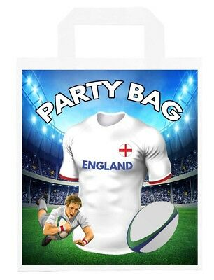 Rugby Stickers Party Bags Fillers Birthday Boys Girls Bath Team Colours