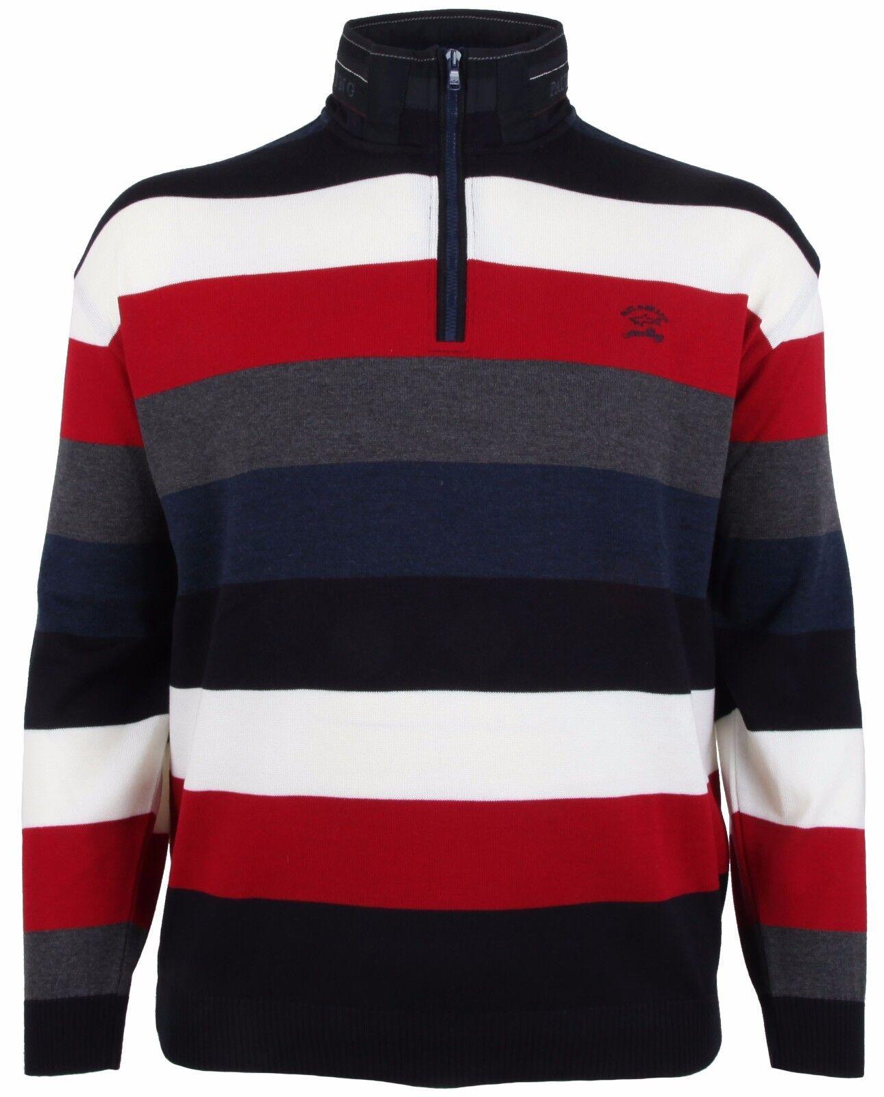 PAUL & SHARK YACHTING Pullover Sweater Troyer Größe 4XL XXXXL COOL TOUCH NEU NEW