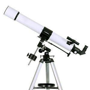 Astronomical Refractor Telescope 80mm Motorized Eq Mount 2