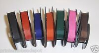 Brother Charger 11 Typewriter Ribbon Color Pack (7 Great Colors Included)