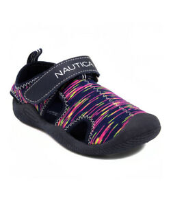Toddler//Little Kid Nautica Kids Kettle Gulf Protective Water Shoe,Closed-Toe Sport Sandal