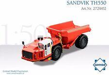 Conrad Sandvik TH550 Underground Mining Dump Truck High Detail O scale 1/50 MIB