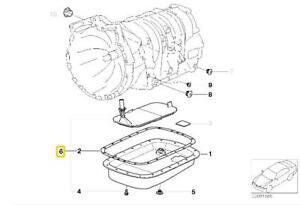 Details about Genuine BMW E39 E46 Automatic Transmission Fluid Filter Kit  OEM 24152333825