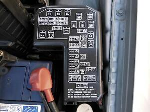 mitsubishi magna fuse box in engine bay th tj ltr petrol image is loading mitsubishi magna fuse box in engine bay th