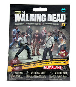 1 x walker aveugle Bag s2 FIGURINE the walking dead Building set MBS 14610 McFarlane 							 							</span>
