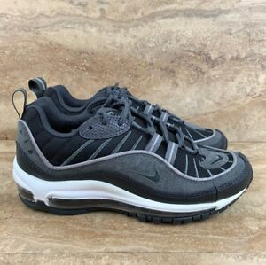 d1af7ef793b4 Nike Air Max 98 SE Men s Shoes Black Anthracite Grey Dark Grey