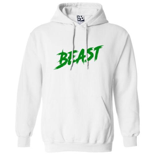 Hooded Sweatshirt Hustle Grind Sports Gym All Sizes /& Colors Beast Rage HOODIE