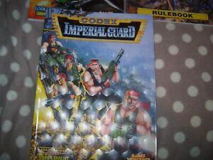 Distingué Warhammer Games Workshop Livre Softback Garde Impériale Codex-afficher Le Titre D'origine