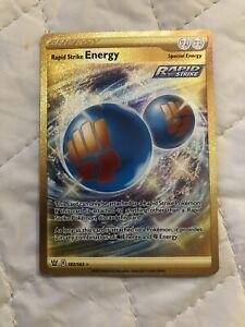 Rapid Strike Energy Secret Rare Battle Styles 182/163