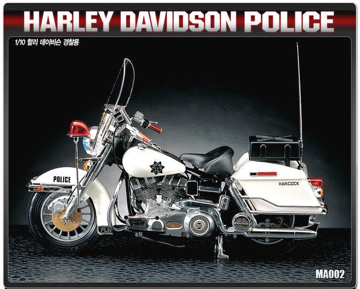 1 10 Harley Davidson Police ACADEMY HOBBY MODEL KITS