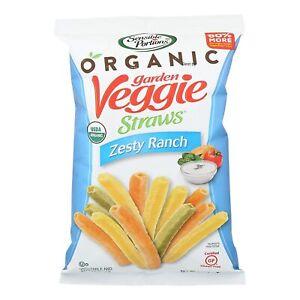 Sensible Portions Garden Veggie Straws Zesty Ranch 5 oz DATE BSB MARCH 2021