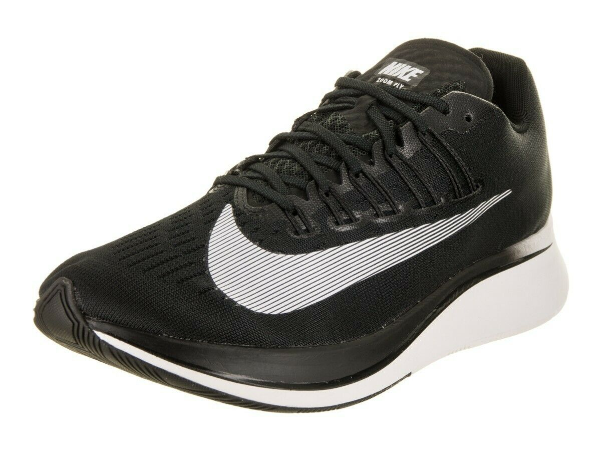 Nike Zoom Fly Running Training shoes Black White 880848 001 Mens Size NEW  150