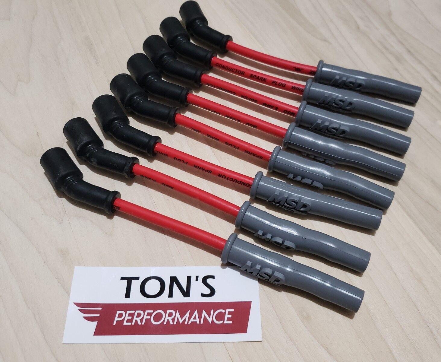 Performance 10mm Red Ignition Spark Plug Wires LS1 LS2 LS4 LS6 LS7 LS9 Set 8