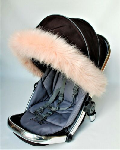 pram hood fit all hoods Stokke Quinny Egg Icandy Joolz Pushchair hood fur