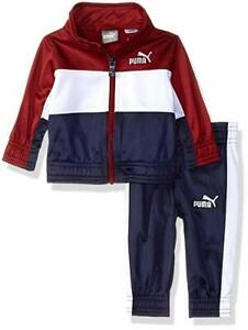 0428c5cd36b2 Details about PUMA Boys 2-Pcs Tricot Track Jacket and Pants