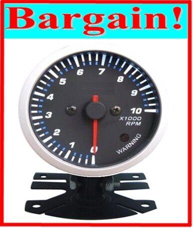 2.5 INCH LED DISPLAY RPM CAR VEHICLE TACHOMETER TACHO GAUGE METER REV COUNTER