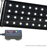 "EVO Quad 36"" Timer 6500K LED Aquarium Light Freshwater Plant Tetra Discus 44x 3W"