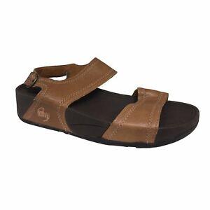 688234622a80 FIT FLOP scarpa donna cuoio toffee tan POSITANO plantare FitFlop ...