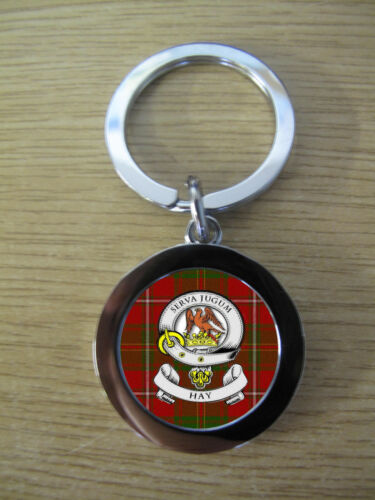 METAL IMAGE DISTORTED TO PREVENT INTERNET THEFT HAY CLAN KEY RING