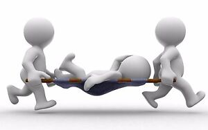 25 Person OSHA First aid kit w/Dividers (Plastic) 223U