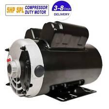 5 Hp Spl Air Compressor Electric Motor 162fla 3450 Rpm 56 Frame 58shaft
