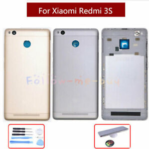 size 40 42408 f89bf Original For Xiaomi Redmi 3S Real Replace Housing Back Battery Door ...