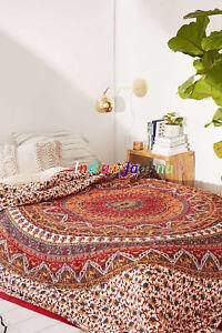 Indian-Star-Mandala-Wandbehang-Hippie-Tagesdecke-Home-Decor-Queen-Tapisserie