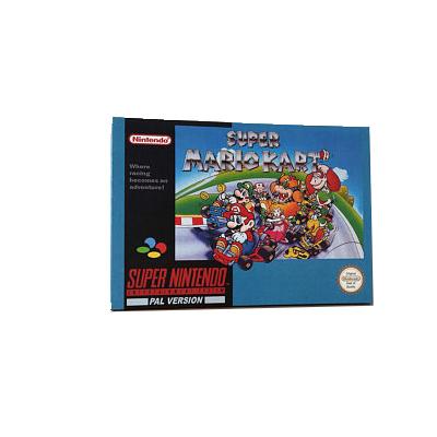 Super Mario Kart - RARE [CIB - Complete In Box] SNES Super Nintendo PAL [TESTED]