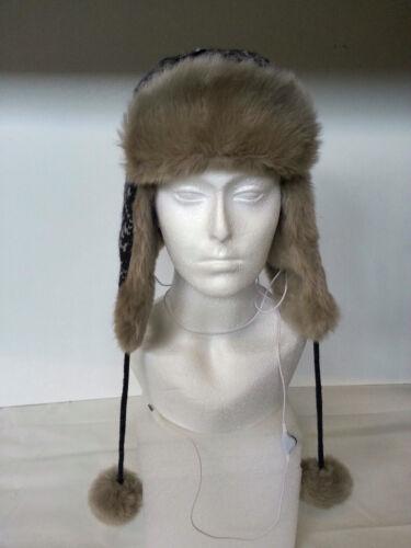 back! F John Lewis-Tech flocon de neige trappeur-hiver chapeau de musique 21 000