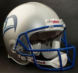 Steve Largent Seattle Seahawks Schutt Opo Sw Football