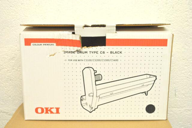 Tambour Original OKI 42126608 Noir C5100 C5200 C5300 C5400 Black Drum Genuine