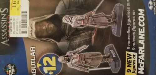 Nouveau MCFARLANE #12 Toys couleur Tops Assassins Creed Aguilar Figure