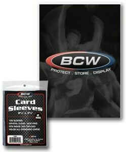 BCW-Standard-Trading-Card-Sleeves-2-5-8-034-x-3-5-8-034-Qty-100