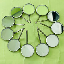 12 Pcs Dental Orthodontic Stainless Steel Mouth Mirrors 5 Plain Size Mirror Ss