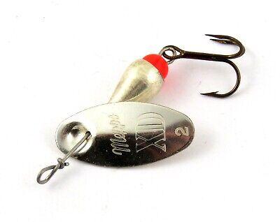 Blinker Mepps Aglia Fliegen Silber T1 Original Spinner 40 mm 3,5 Gramm