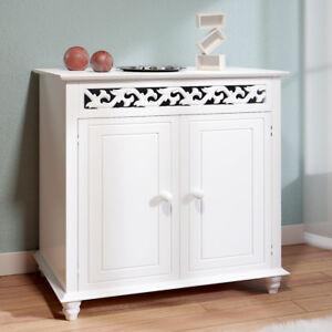 Deuba-Mobile-in-legno-Nostalgie-bianco-Versatile-Spazioso-e-pratico